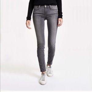 Paige Verdugo Ultra Skinny Jeans Gray Silvie